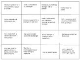 Communication Bingo - Activity for Job Fairs