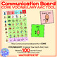 Communication Board- Core Vocabulary AAC from NoodleNook
