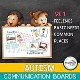 Communication Board | AAC Vocabulary for Basic needs, Feel