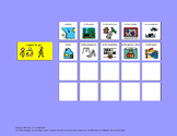 Communication Board: Going Places [speech therapy and autism]