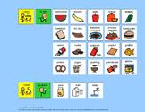 Communication Board: Mealtime Sentences Bundle [speech the