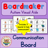 Communication Boards - Boardmaker Visual Aids for Autism and Non-verbal