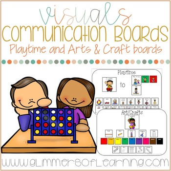 Communication Boards for Arts/Crafts and Playtime