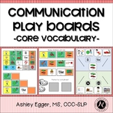 AAC Core Vocabulary Activities and Communication Boards