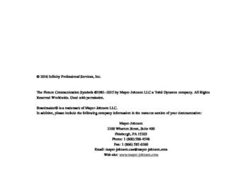 AAC - Communication Book
