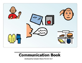 AAC - Communication Book with sentence starters