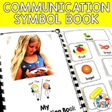 Communication Book with Symbols for Autism and Special Education
