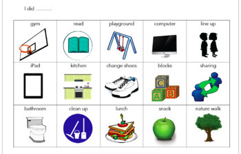 Communication Book - For Students With Special Needs