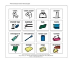 Communication Book Pictures - Bathroom