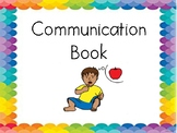 Communication Book for Non-Verbal Students