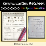 Communication Book for Special Education =