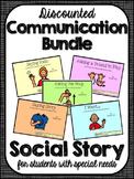 Communication Bundle- Social Narratives for Student's with Autism