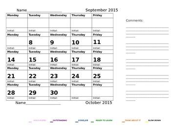 EDITABLE Communication Calendars