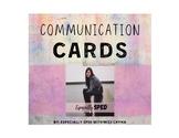 Communication Cards