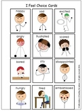 Communication Cards - Behavior, Feelings, Classroom Manage