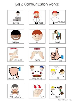 First Then Communication Cards For Students With Autism And Speech Needs