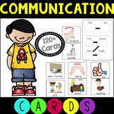 Communication Cards for Students with Autism and Speech Needs