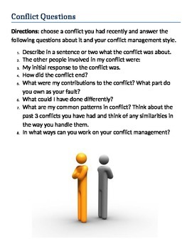 Communication & Conflicts Handouts
