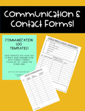 Communication & Contact Forms