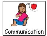 Communication Core Vocabulary Board