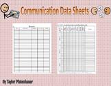 Communication Data Sheets