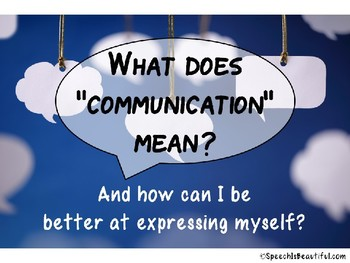 {Freebie} Communication Effectiveness for Older Elementary Students #BSHM
