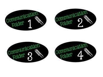 Communication Folder Tags