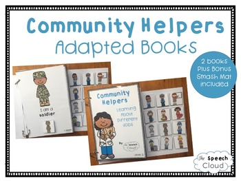 Community Helpers Adapted Books
