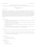 Communication: Johann Gutenberg and The Printing Press