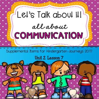 Communication (Let's Talk About It!) Journeys 2017