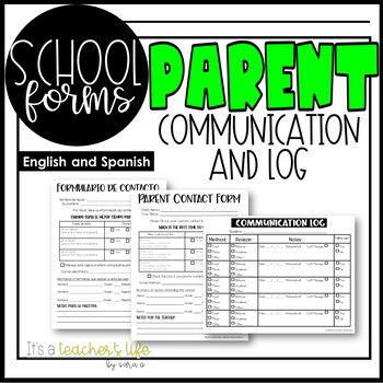 Parent Communication Forms