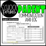 Parent Communication Forms