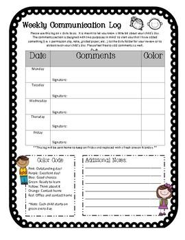 Elementary Behavior Communication Logs