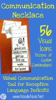 Communication Necklace- A Visual Communication Tool for Teachers in Autism Units