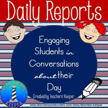 Communication Notes for Engaging in Conversations about the Students' Day