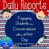 Daily Report Notes About Your Students' Day