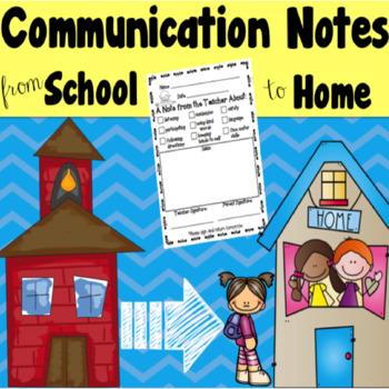 Communication Notes