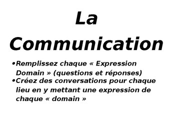 Communication Packet