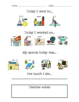 Communication Page