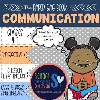 Communication - Paper Bag Communication Book