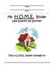 Communication / Parent / Take Home / Student Binder
