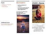 Editable Communication Passport: Student Information Pamph
