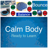 Communication Pictures: Jump, Balance & Bounce - Ready to Learn Posters