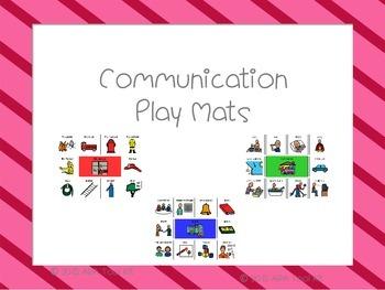 Communication Play Mats