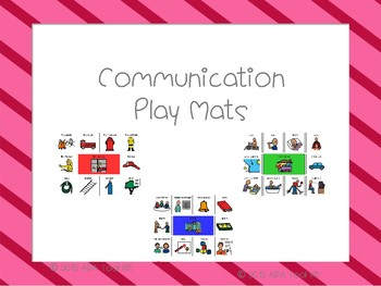 Communication Play Mats