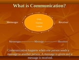 Communication Power Point for Parents Raising Children wit