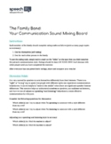 Communication Rating Scale for the Client and Family