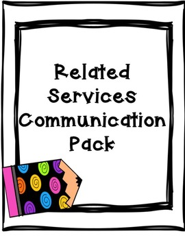 Special Education: Communication-Related Service Personnel