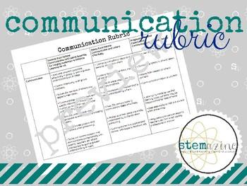 Communication Rubric
