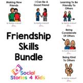 Friendship Skills Bundle (French Black and White Versions)